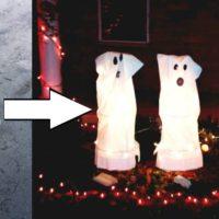 Tomato Cage Ghosts - A NO-FAIL DIY Halloween decor