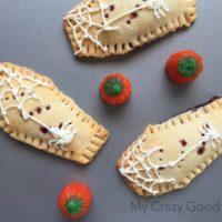 Coffin Shaped Homemade Pop Tarts | Fun Halloween Recipe