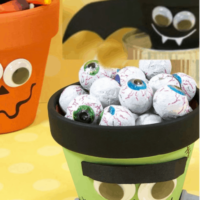 Monster Halloween Decor Craft