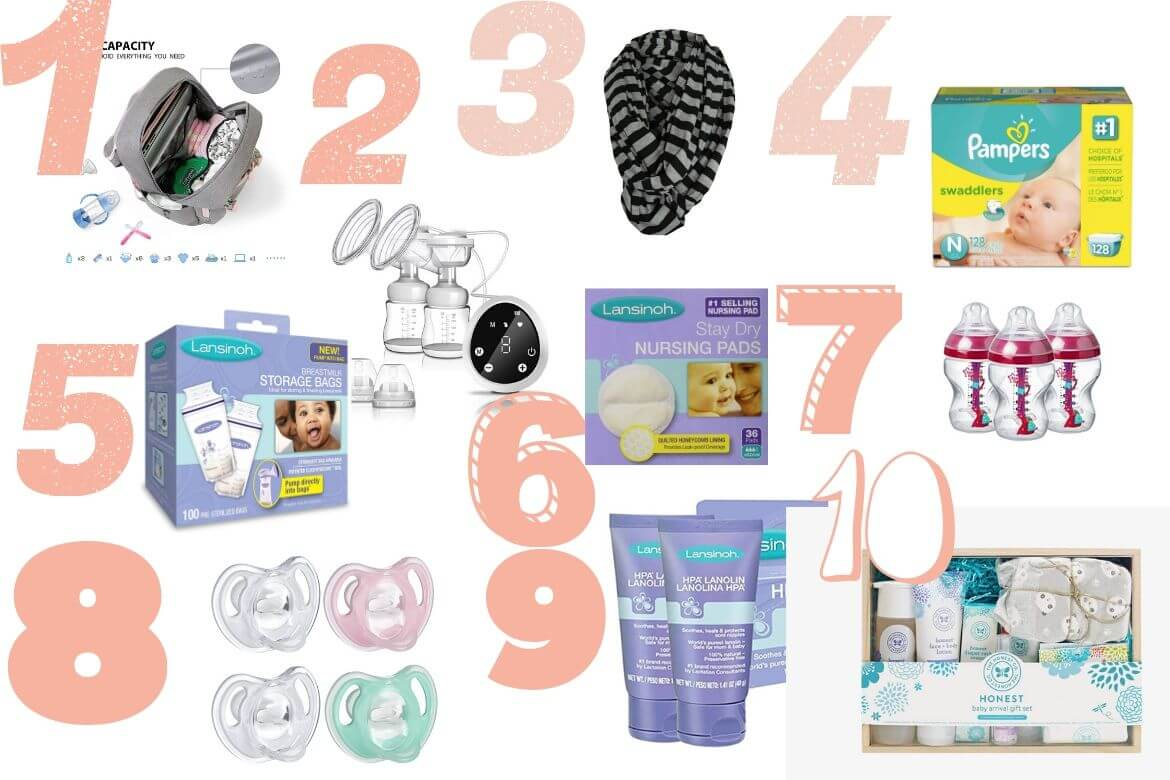 10 Newborn Diaper Bag Essentials