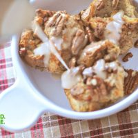 Butter Pecan Bread Pudding Minis| Indianapolis Food Blogger 8