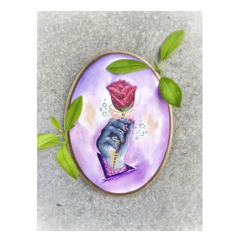 CONCRETE ROSE | Fine Art